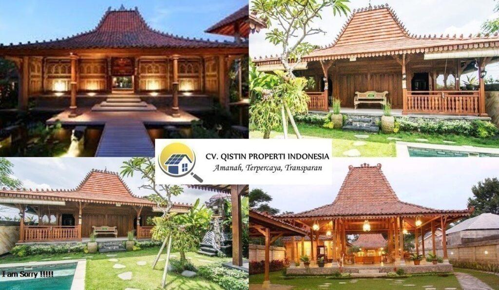 Jasa Renovasi Bangunan Joglo Limasan di Sukabumi Semi Permanen