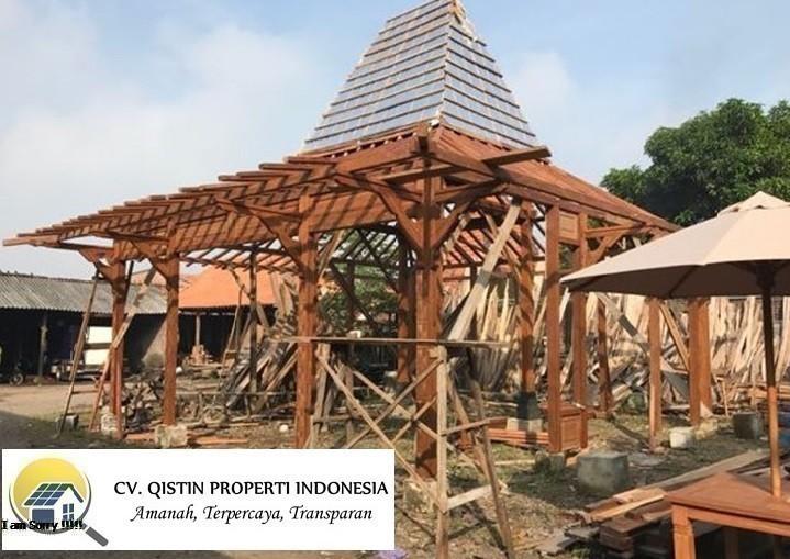 Jasa Renovasi Bangunan Joglo Limasan di Bekasi termurah